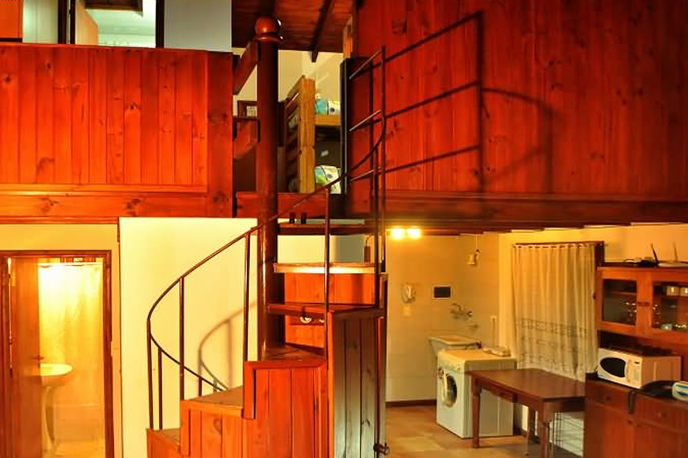 Escalera playroom casa 175